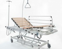 CLINICA MASTER BED PLUS (lame métallique)